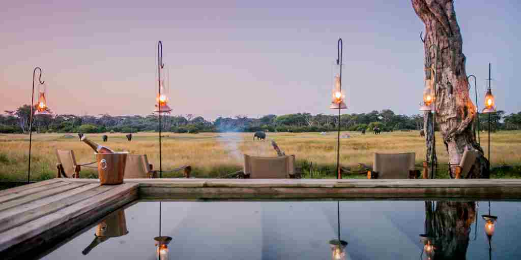 the private hide game view zimbabwe yellow zebra safaris