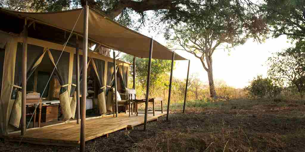 chada katavi camp tanzania outside yellow zebra safaris