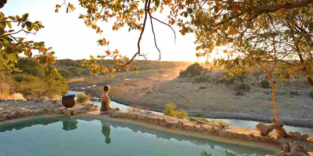 meno a kwena sunset pool botswana yellow zebra safaris