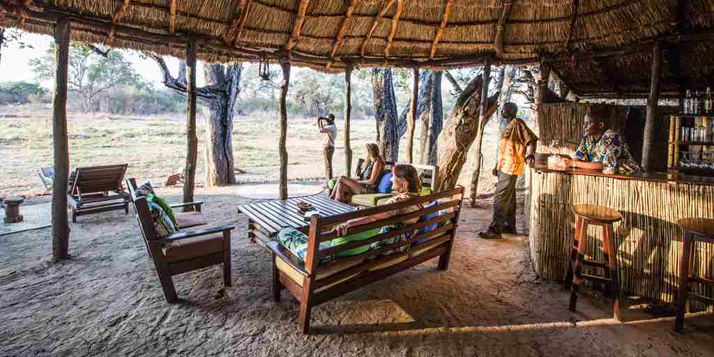 crocodile river camp main area zambia yellow zebra safaris