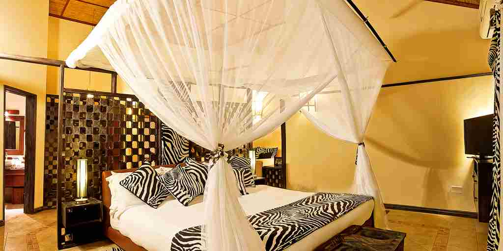 afrochic diana beach kenya double bedroom yellow zebra safaris