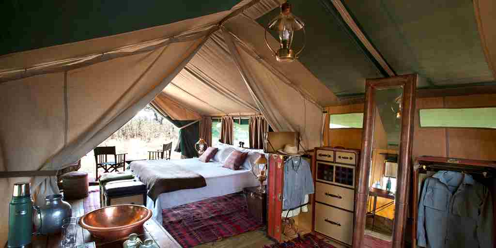 selinda explorers camp interior botswana yellow zebra safaris