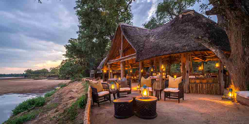 chamilandu bush camps exterior zambia yellow zebra safaris