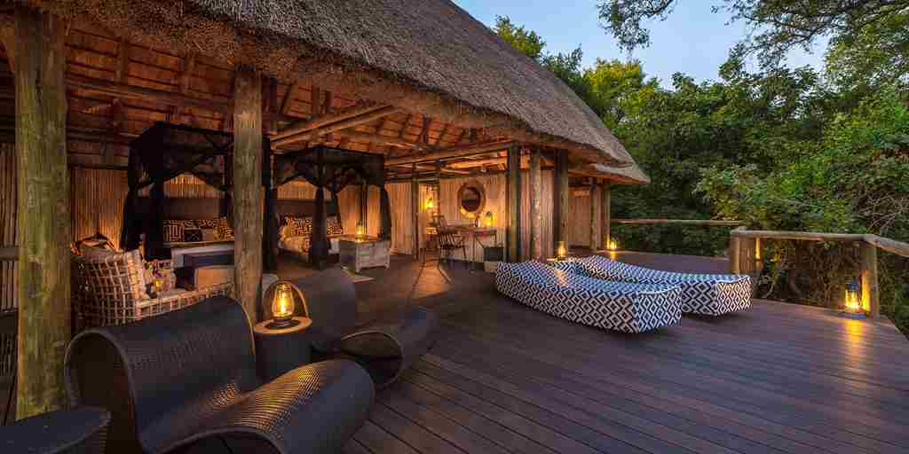 chamilandu bush camps decking zambia yellow zebra safaris