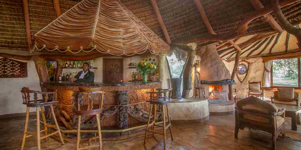 chui lodge kenya bar yellow zebra safaris