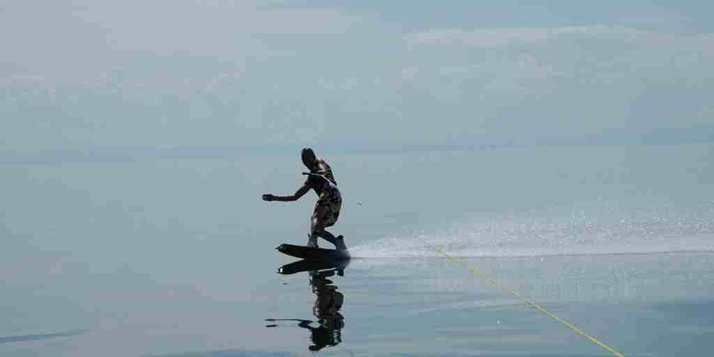 5. May in Malawi wakeboarding