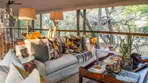 rhino sands safari camp main area south africa yellow zebra safaris