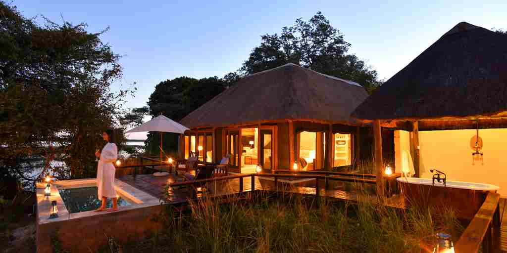royal zambezi plunge pool zambia yellow zebra safaris