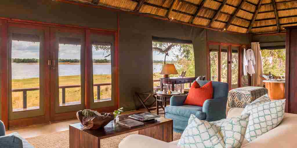 royal zambezi lounge zambia yellow zebra safaris