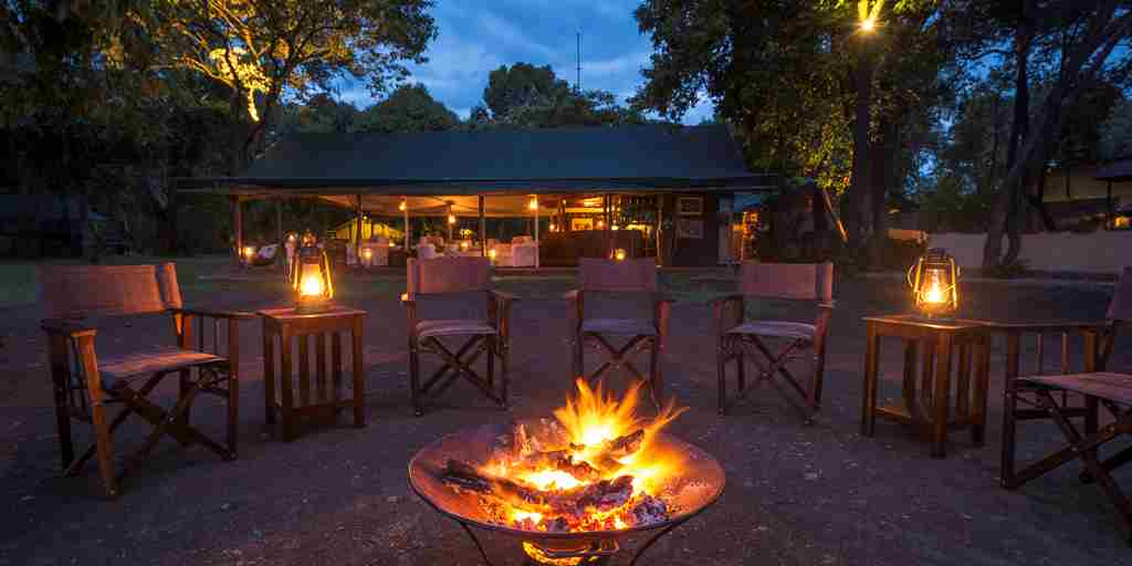 little governors camp fire kenya yellow zebra safaris