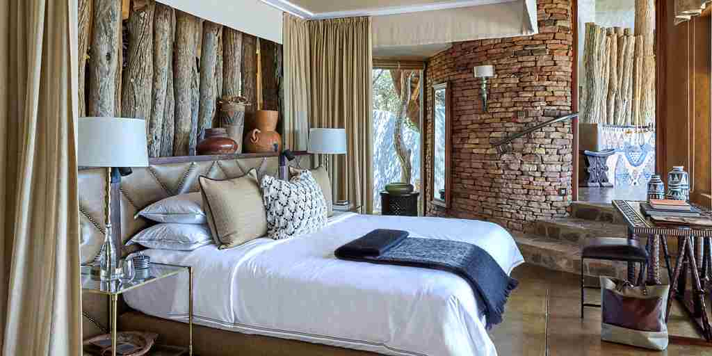 singita pamushana double room zimbabwe yellow zebra safaris