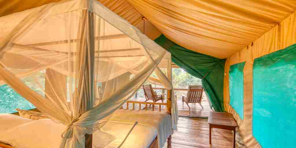 mbali mbali katavi double room view tanzania yellow zebra safaris