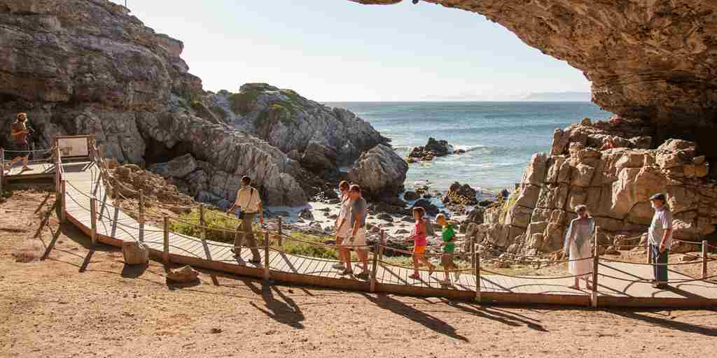 grootbos forest lodge cave tour south africa yellow zebra safaris