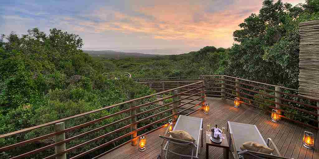 grootbos garden lodge sky deck south africa yellow zebra safaris