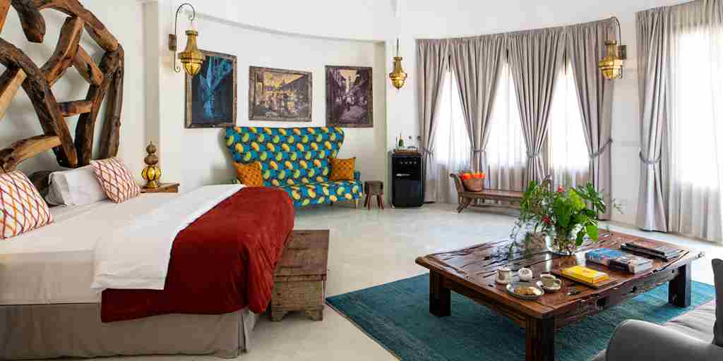xandu villas double room tanzania yellow zebra safaris
