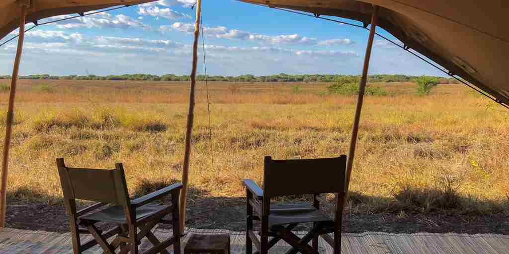 ntemwa busanga camp deck view zambia yellow zebra safaris