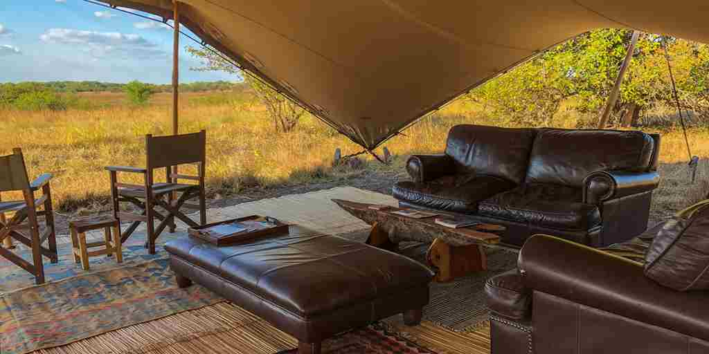 ntemwa busanga camp lounge zambia yellow zebra safaris