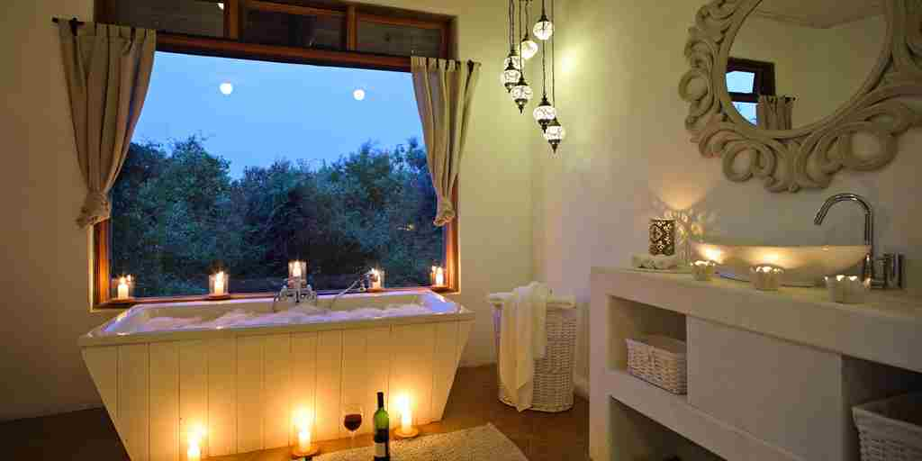 cottars private bush villa private bathroom kenya yellow zebra safaris