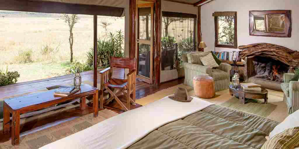 enasoit bedroom kenya yellow zebra safaris