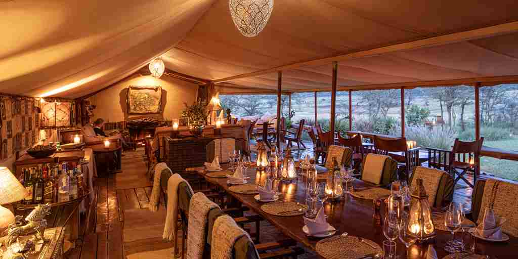 enasoit dining kenya yellow zebra safaris