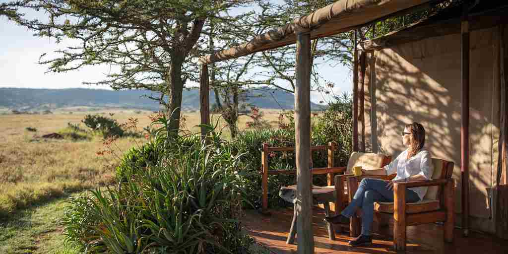 enasoit tent decking kenya yellow zebra safaris