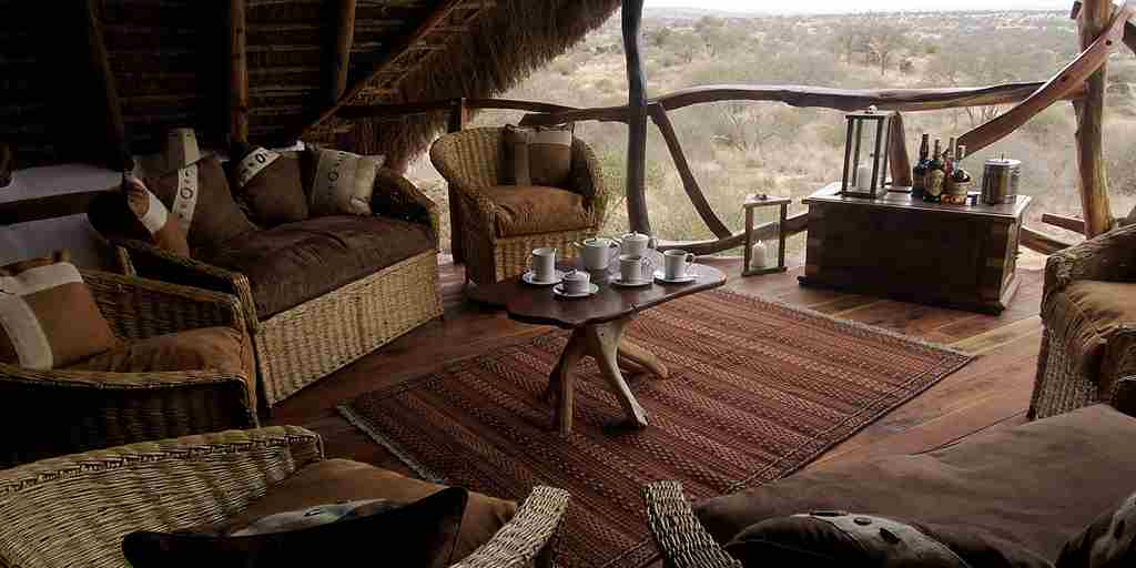 satao elarai viewing deck kenya yellow zebra safaris