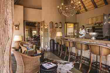 Bar in Tuningi, Madikwe Game Reserve