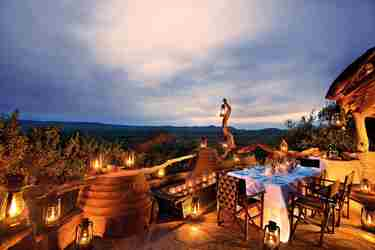 Views at Dibatha Lodge, Madikwe