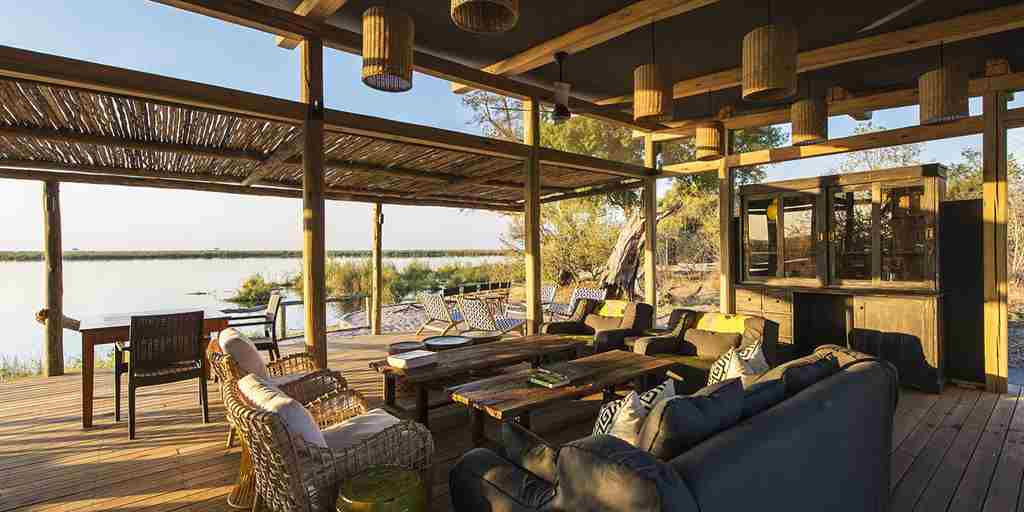 Views out of Linyanti Tented Camp, Botswana