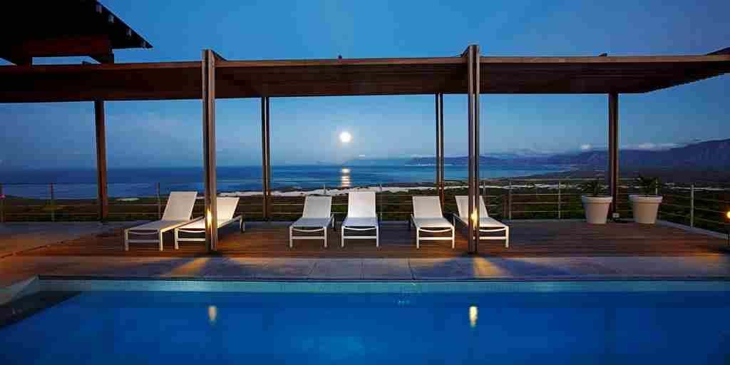 Grootbos 'The Villa'. Moonset over Walker Bay.jpg