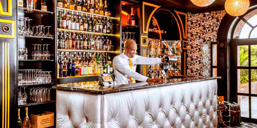 Barman at the Champagne Bar.jpg