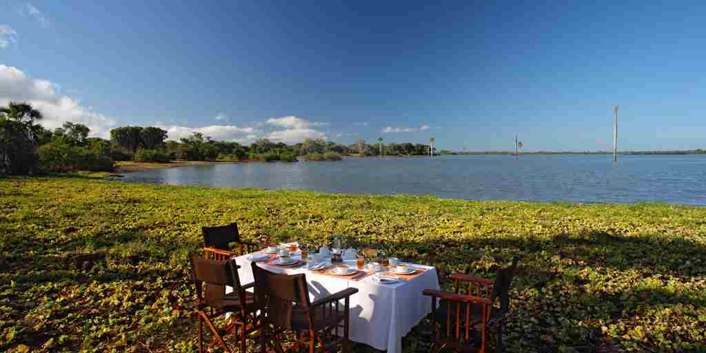 Glorious bush breakfast on the shores of Lake Nzerakara.jpg